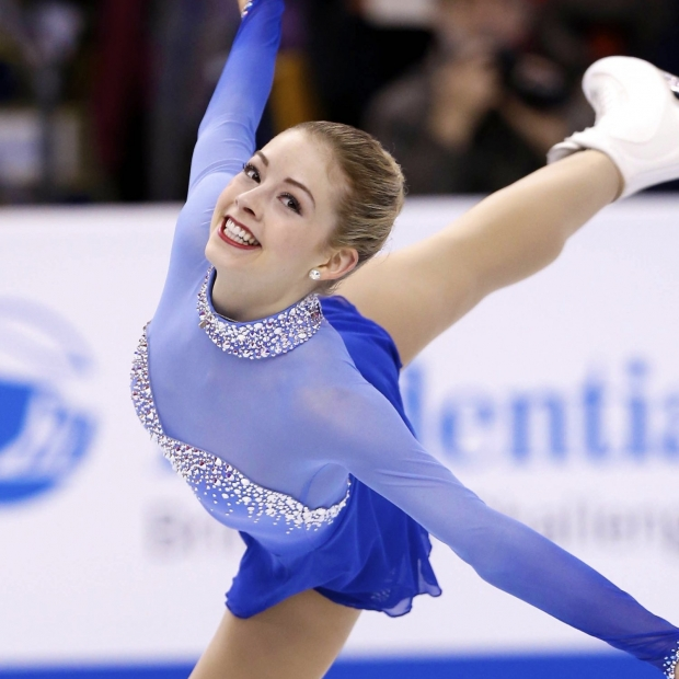 American figure skate Gracie Gold