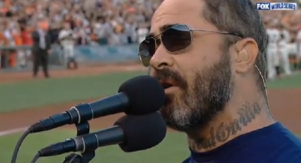 Aaron Lewis National Anthem