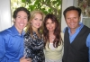 Joel Osteen, Victoria Osteen, Roma Downey and Mark Burnett