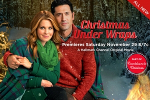 'Christmas Under Wraps' New Hallmark Movie Starring Candace Cameron Bure Premieres Nov 29th, Watch Trailer Here (VIDEO)