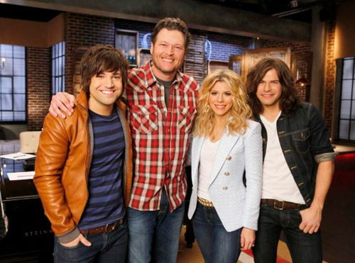 Blake Shelton The Band Perry