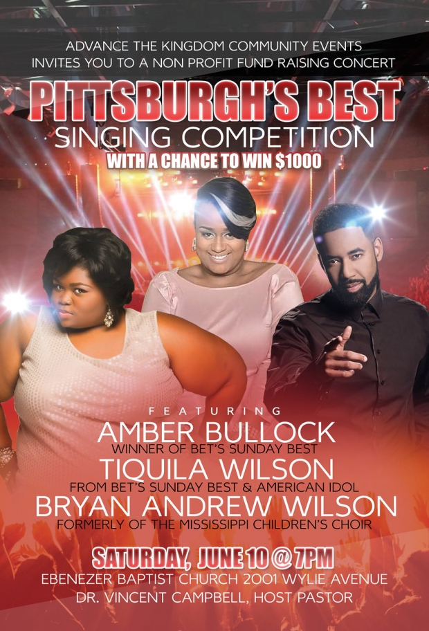 """Pittsburgh's Best Singing Competition"""