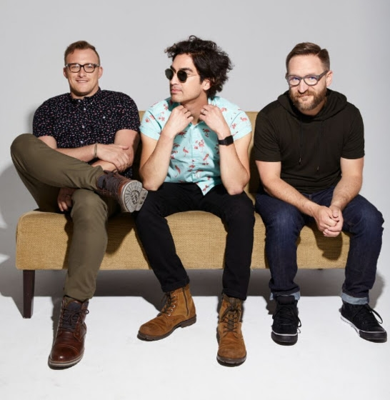Sanctus Real is Dustin Lolli, Chris Rohman and Mark Graalman.