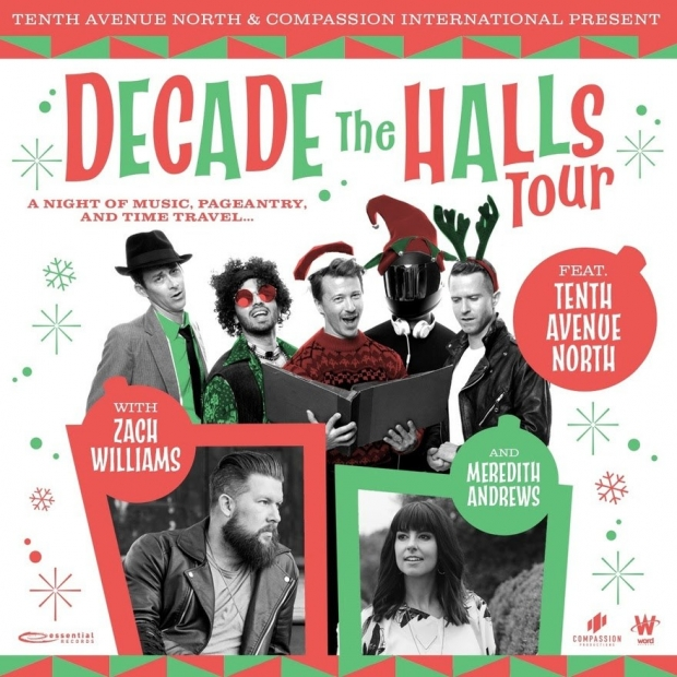 Decade The Halls Tours Poster