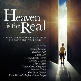 """Various Artists """"Heaven is for Real: Songs Inspired by the Film and Best-Selling Book"""" Soundtrack Review"""