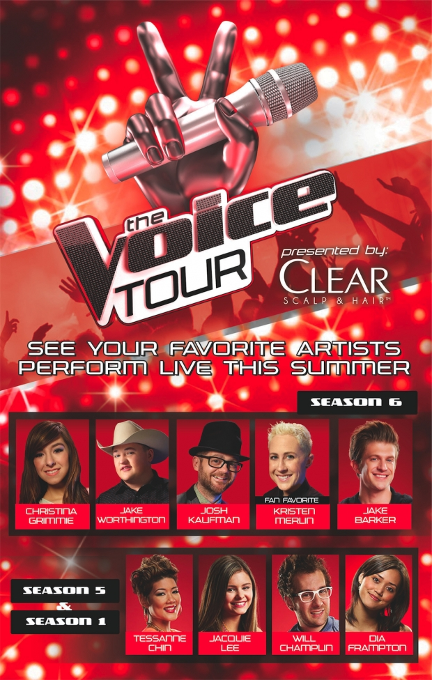 The Voice Tour 2014