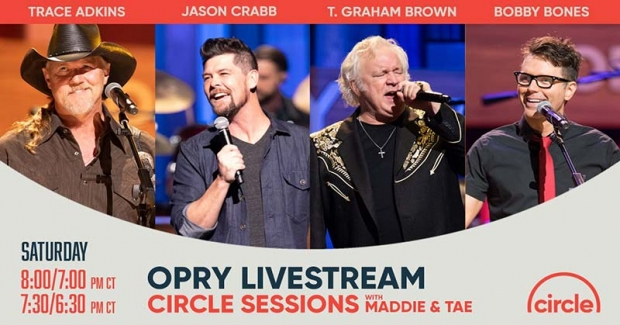 Trace Adkins, Jason Crabb And Host Bobby Bones For A Special