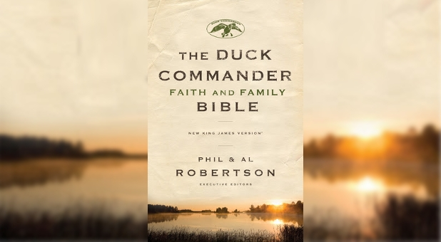 Duck Dynasty The Duck Commander Faith and Family Bible Phil Robertson