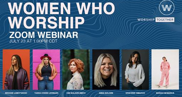 Women Who Worship & Worship Together Live Zoom Event