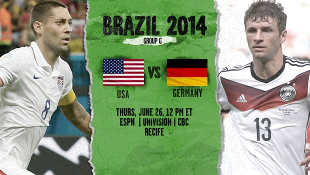 USA vs Germany World Cup