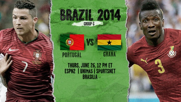 Portugal vs Ghana World Cup