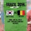 South Korea vs Belgium