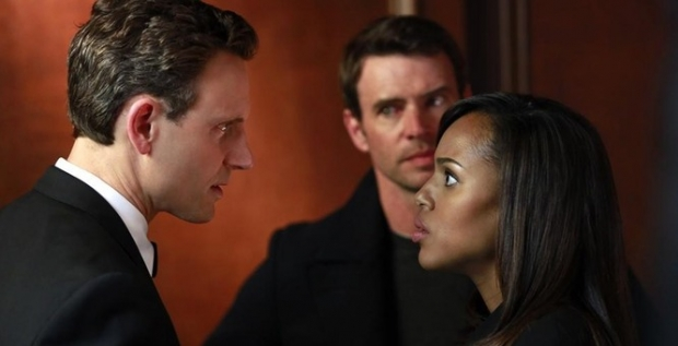 Fitz, Olivia, and Jake in season 3 finale of 'Scandal'