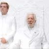 Peeta Mellark and President Snow in teaser trailer for 'Mockingjay'