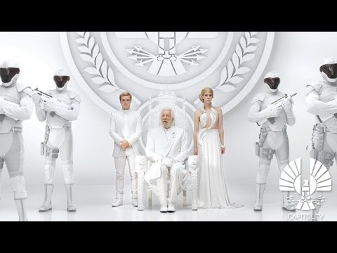 """A still from the new teaser trailer for """"The Hunger Games: Mockingjay, Part 1"""""""