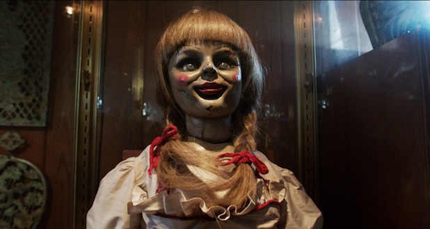 "The Annabelle doll from the movie ""The Conjuring"" will have her own spin-off film in October"