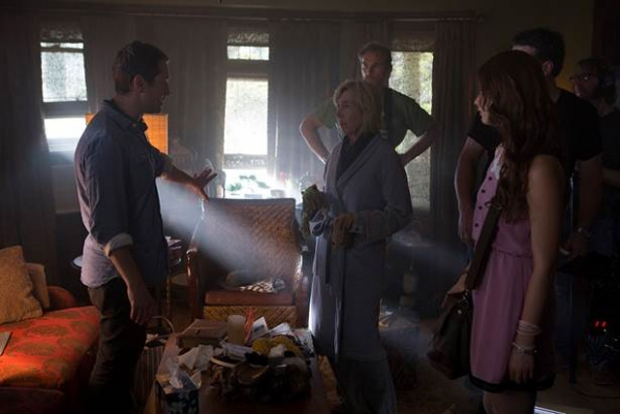 """the first official behind the scenes image from """"Insidious 3"""""""