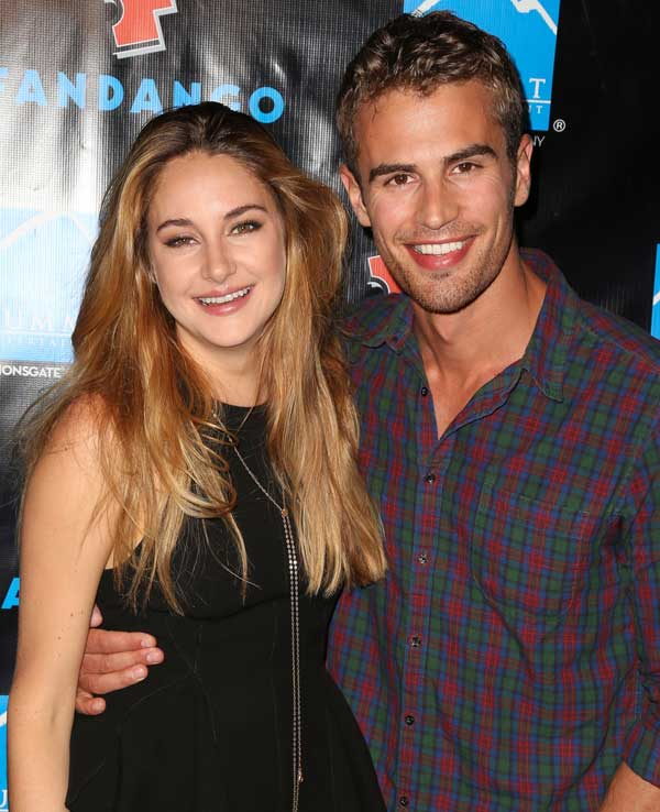 Who is shailene woodley currently dating