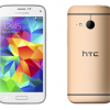 The Samsung Galaxy S5 Mini vs. the HTC One Mini 2