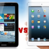 the Samsung Galaxy Tab 3 vs. the Apple iPad Mini 2