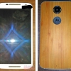 the leaked prototype photo of the Motorola Moto X+1