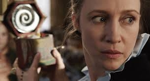 "Vera Farmiga as paranormal investigator and demonologist Lorraine Warren in ""The Conjuring"""