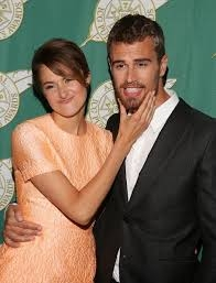 divergent shailene woodley and theo james