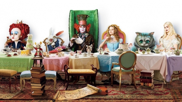 Alice in Wonderland Through the Looking Glass