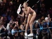 Miley Cyrus Ends 2013 in Her Underwear