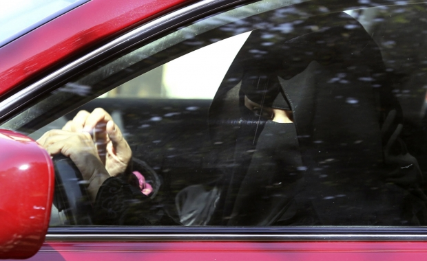 A Woman Driving in Saudi Arabia