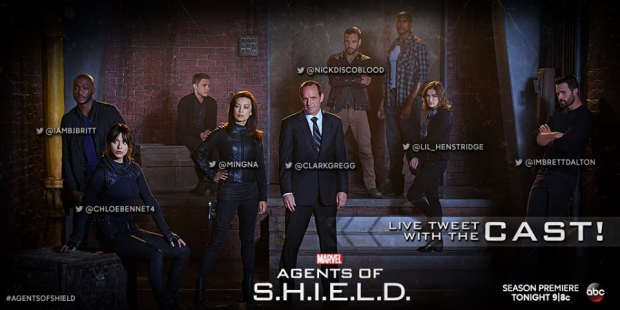 Focused on the Magic | Marvel's AGENTS OF S.H.I.E.L.D. coming t Blu ...
