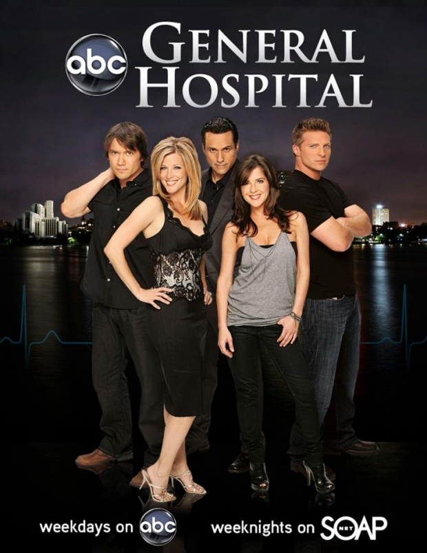 General Hospital, weekdays on ABC