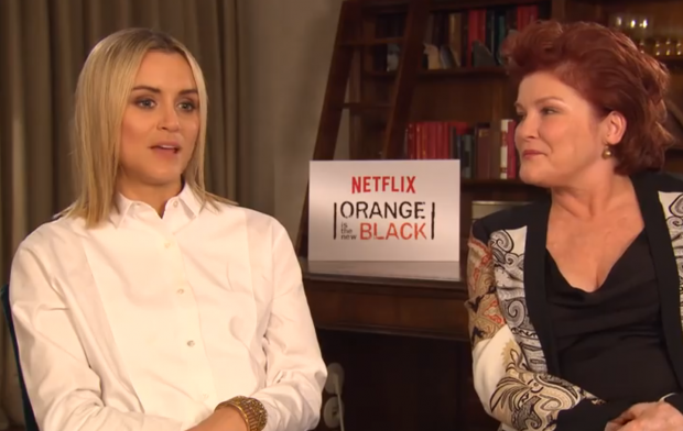 Orange is the new black star dating producer