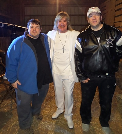 John Schlitt with the Saylors brothers