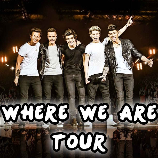 The Close Show of the Where We Are Tour by One Direction