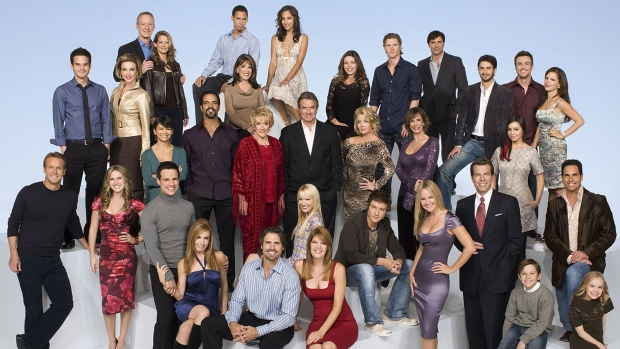 """""""THE YOUNG AND THE RESTLESS"""" Cast"""