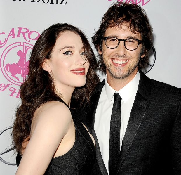 Kat Dennings Josh Groban Dating Carousel Hope Ball 101114 1 600x450 ...