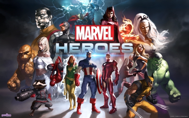 The Marvel Heroes