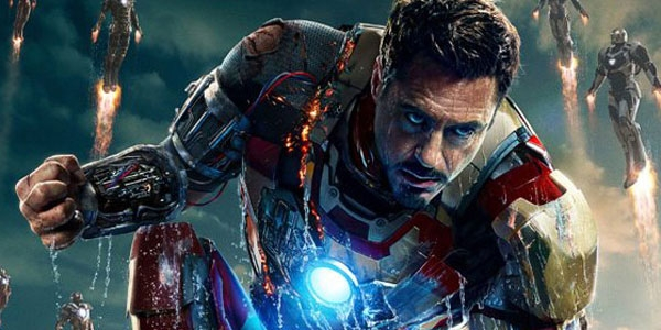 "Robert Downey Jr. in ""Captain America 3"" as Iron Man"