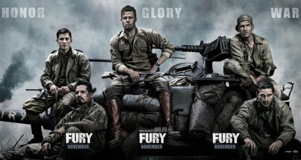 Brad Pitt's 'Fury' Review: Tank Warfare That Defines Honor, Glory, and War