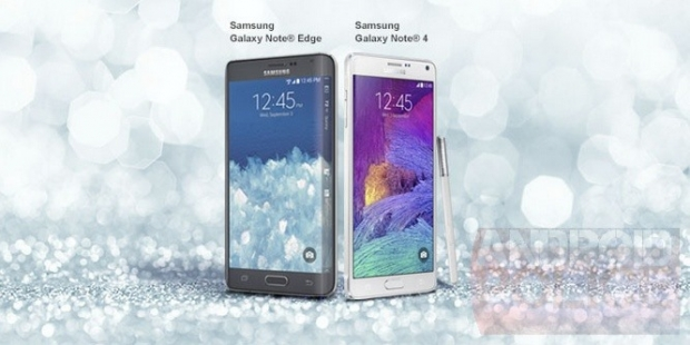 Note the Samsung Note 4 and Samsung Note Edge